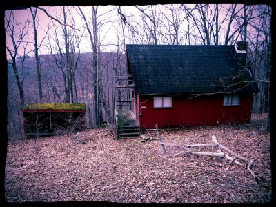 Creepy-Red-House
