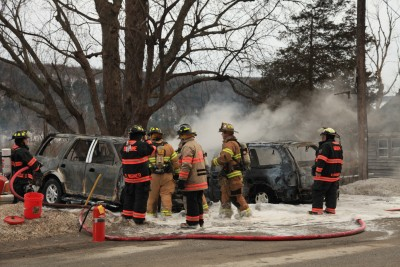 Multiple Vehicle Fire On Windy Ridge Road (1)