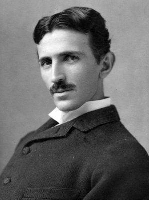 Nikola Tesla - Circa 1890