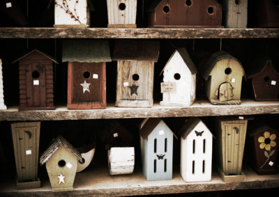 Wooden-Birdhouses