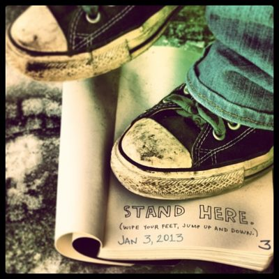 stand-here
