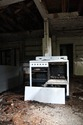Destroyed Electric Stove
